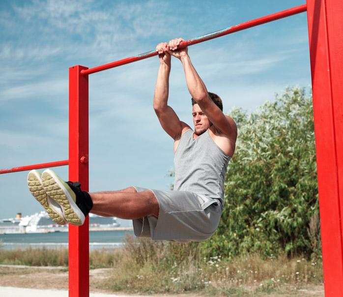 equipamiento deportivo exterior fitness