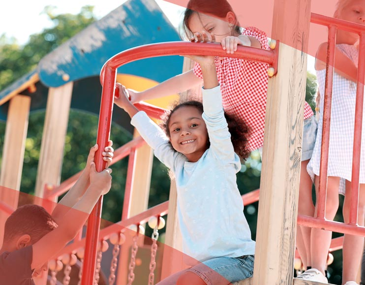 Parque infantil madera