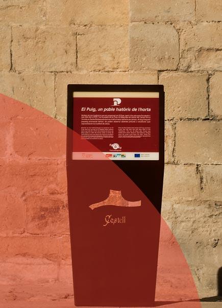 Señalización patrimonial Castellón