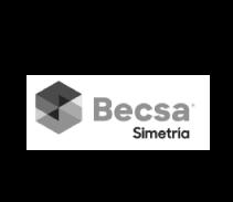 Logotipo cliente Becsa Simetría